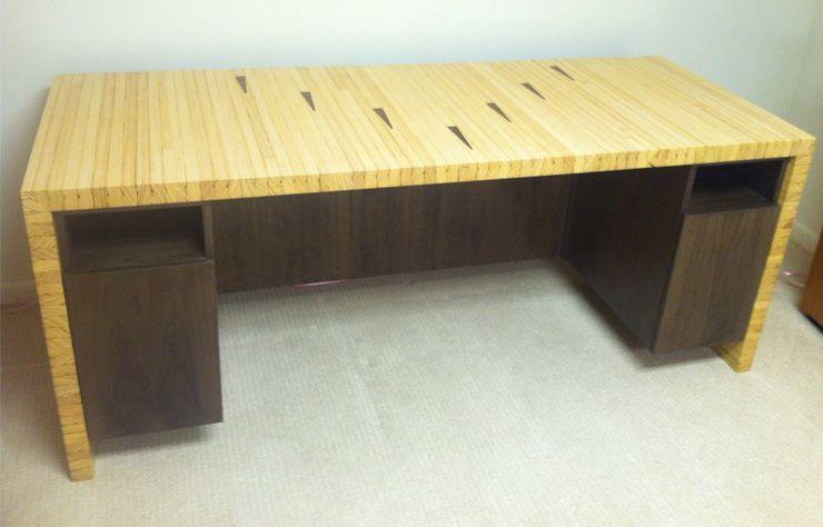 Bowling Alley Desk :: Demeter Millwork
