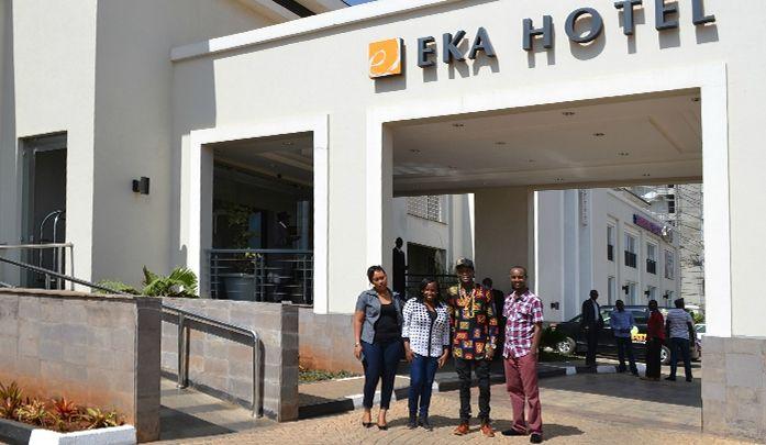 Dr. Jose Chameleone at Eka Hotel Nairobi