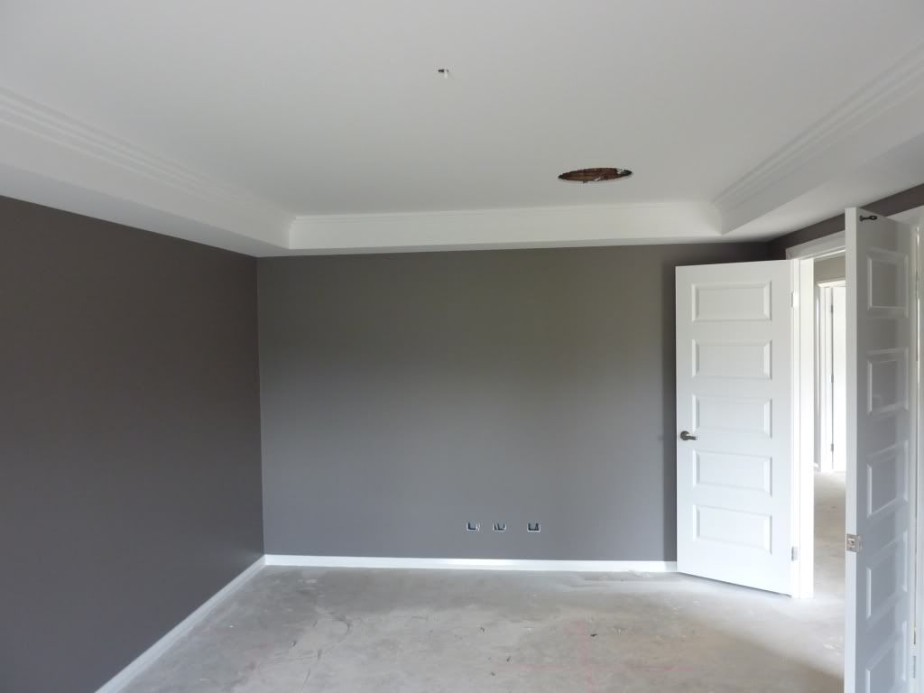 Feature wall dulux exposed elements skirting for Bedroom feature wall paint ideas