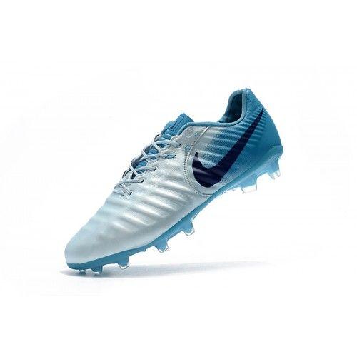 best service 8449a 6de95 Nike Tiempo - Nye Nike Tiempo Legend VII FG Blå Hvid udsalg støvler