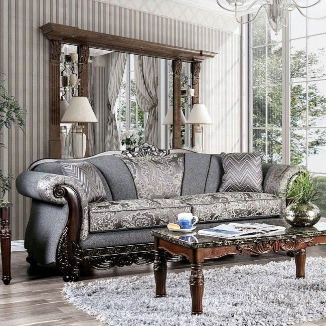 Best Newdale Living Room Set Gray Cheap Living Room Sets 640 x 480