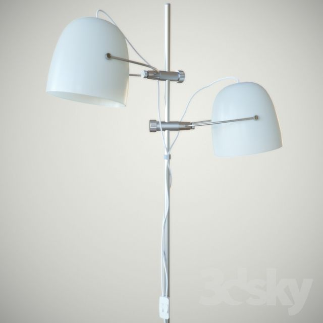 3d Models Floor Lamp Ikea Svirvel Floor Lamps Floor Lamp