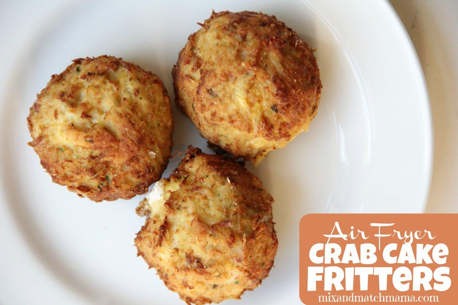 gluten free crab cakes air fryer