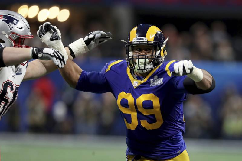Madden Nfl 20 Player Ratings Rams Aaron Donald Joins 99 Club Bleacher Report Latest News Videos And Highlights Http Www Atvnetwo Madden Nfl Nfl Donald