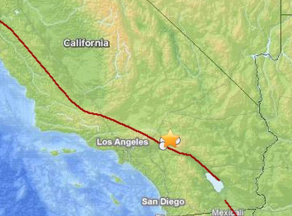 California Earthquake Today Quake Near Los Angeles