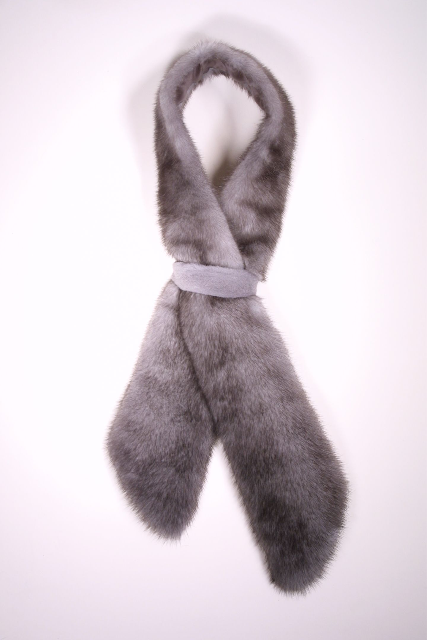 Mink tie from David Appel Furs