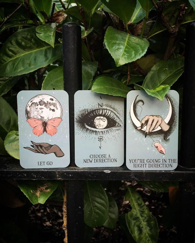 Crystal ball pocket oracle cards tarot deck oracle cards