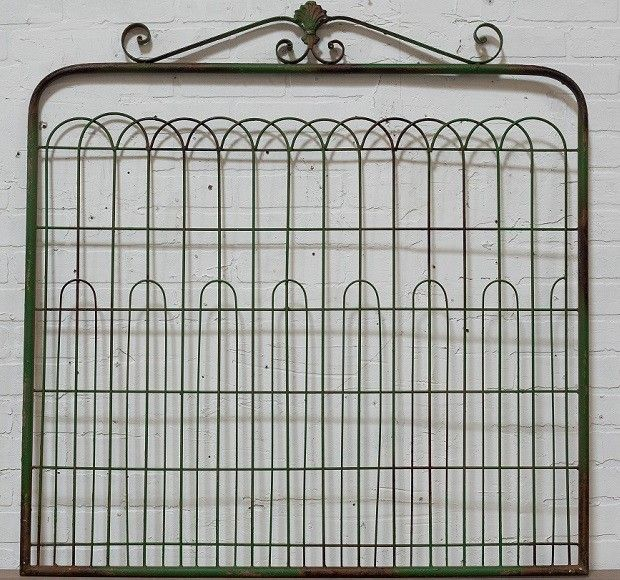 Metal Gate Wall Decor | Garden Gate Decor