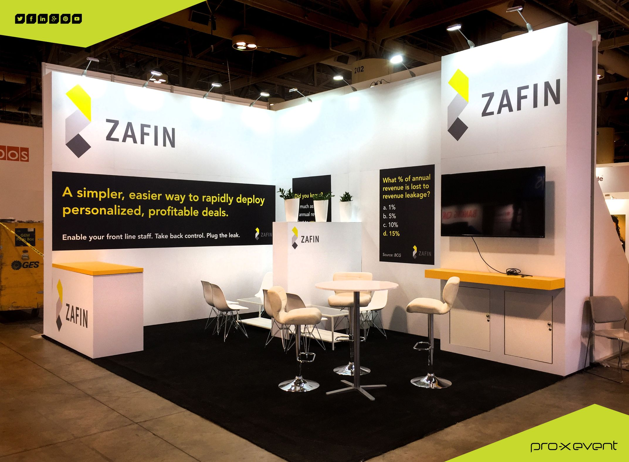 Going to SIBOS this week? Stop by Zafin booth, with it