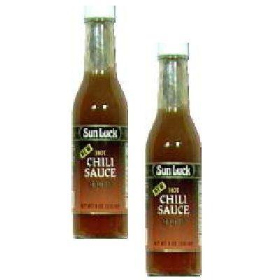 Sun Luck Hot Chili Sauce (6x11.5OZ )
