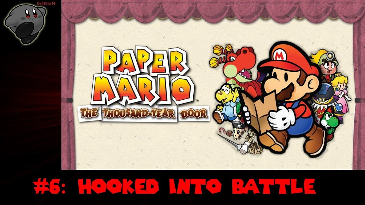 Paper Mario The Thousand Year Door 6 Hooked To Battle In 2020 Paper Mario And So The Adventure Begins Paper