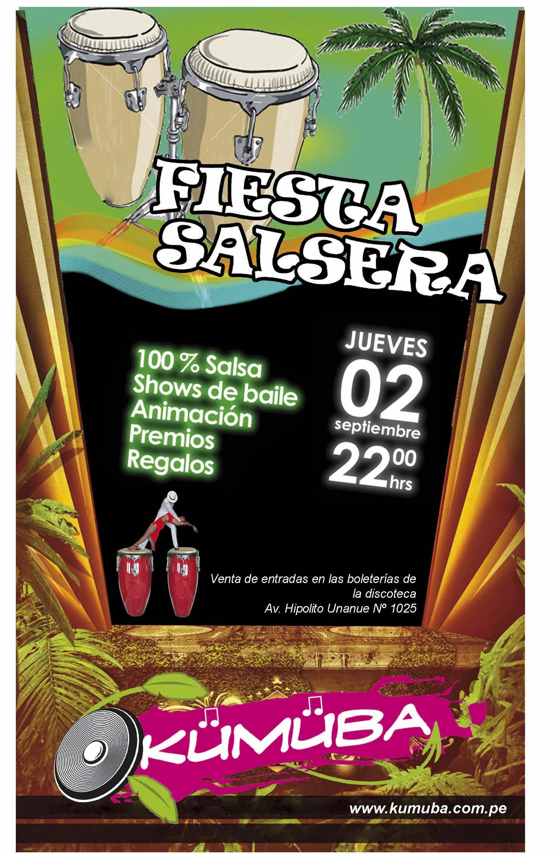 Invitación Para Fiesta Salsera En Discoteca Invitaciones De Fiesta Discotecas Invitaciones