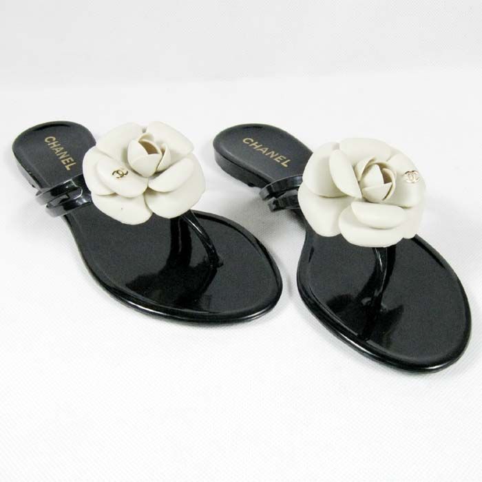 chanel flip flops. fancy feet--chanel camellia flip flop chanel flops