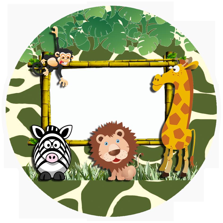 Kit Digital De Aniversario Tema Safari Para Imprimir
