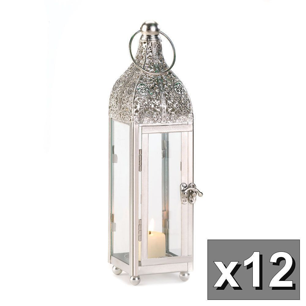 With Four Glass Panels A Large Top Ring For Hanging And A Fascinating Door Latch This Lig With Images Hanging Candle Lanterns Glass Candle Lantern Metal Candle Lanterns