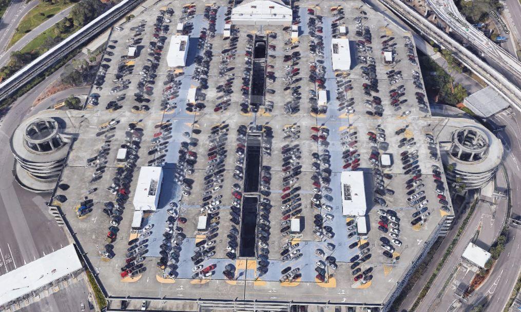 Tampa Airport Economy Parking Garage in 2020 Tampa
