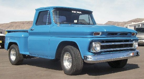 1966 Chevy Stepside Pickup Mine Is White And In Need Of Some Tlc