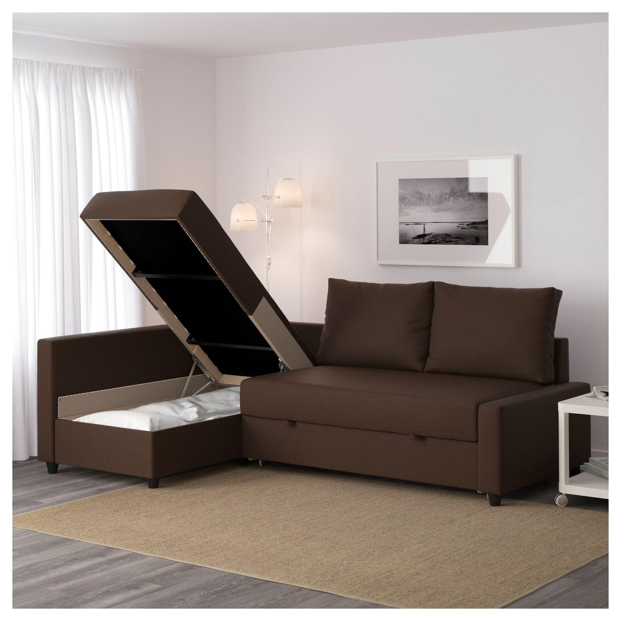 Aspen Convertible Sectional Storage Sofa Bed Adelaide White Leather Modern With Fabio