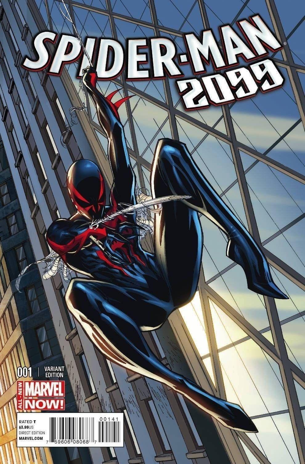 Spider-man 2099 Volume 2 #1 J. Scott Campbell Variant