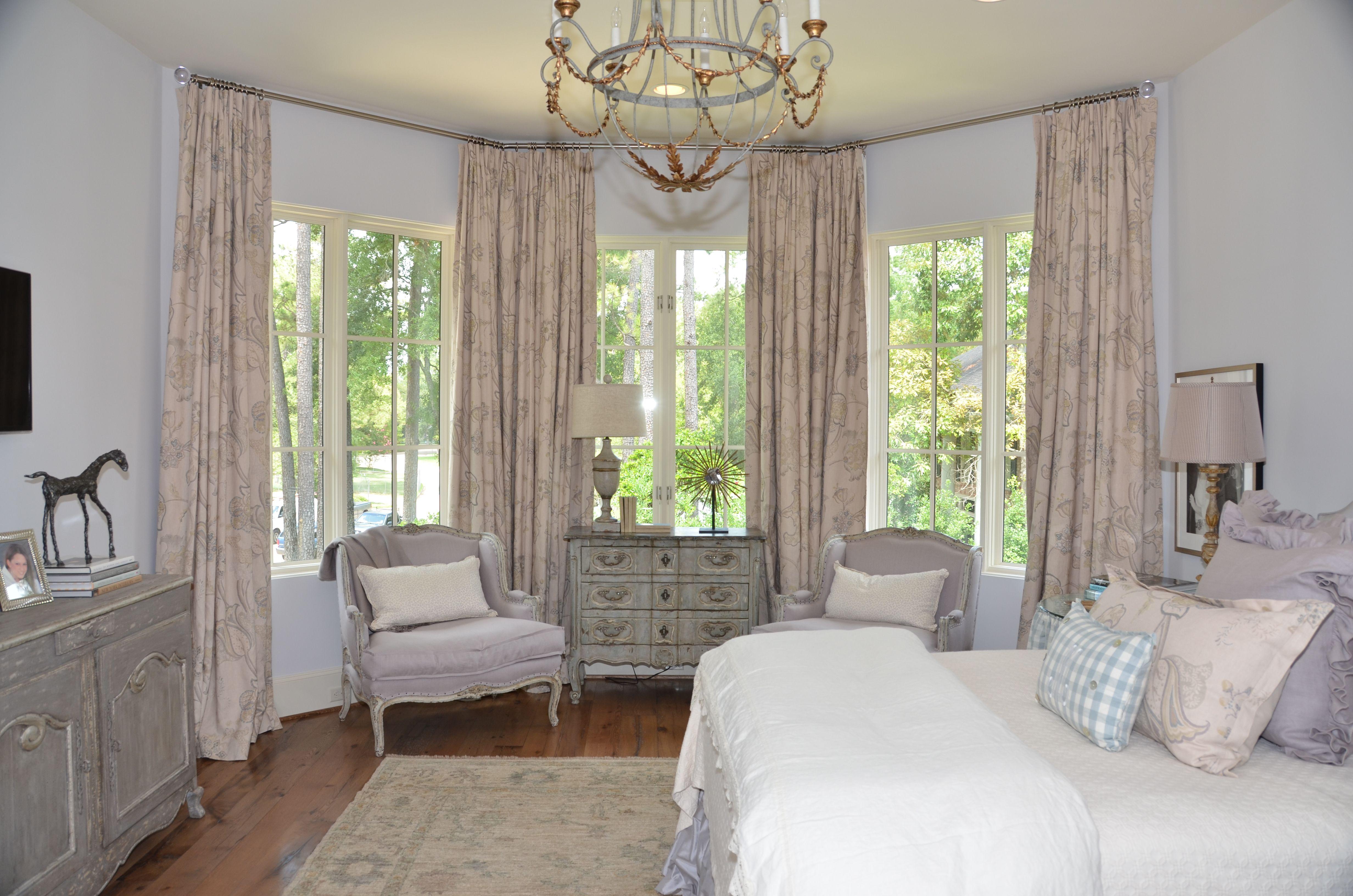 Bed on bay window  cindy witmer designs  amazing interiors  pinterest  bay window