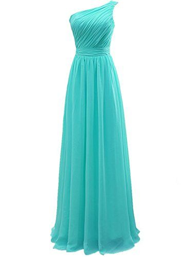 Lorderqueen Womens Long Bridesmaid Prom Dresses Size 10 Tiffany Blue ...