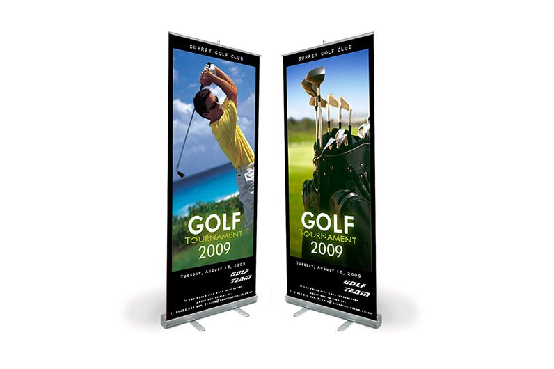 רול אפ 10 Banner Printing Retractable Banner Stand Banner Printer