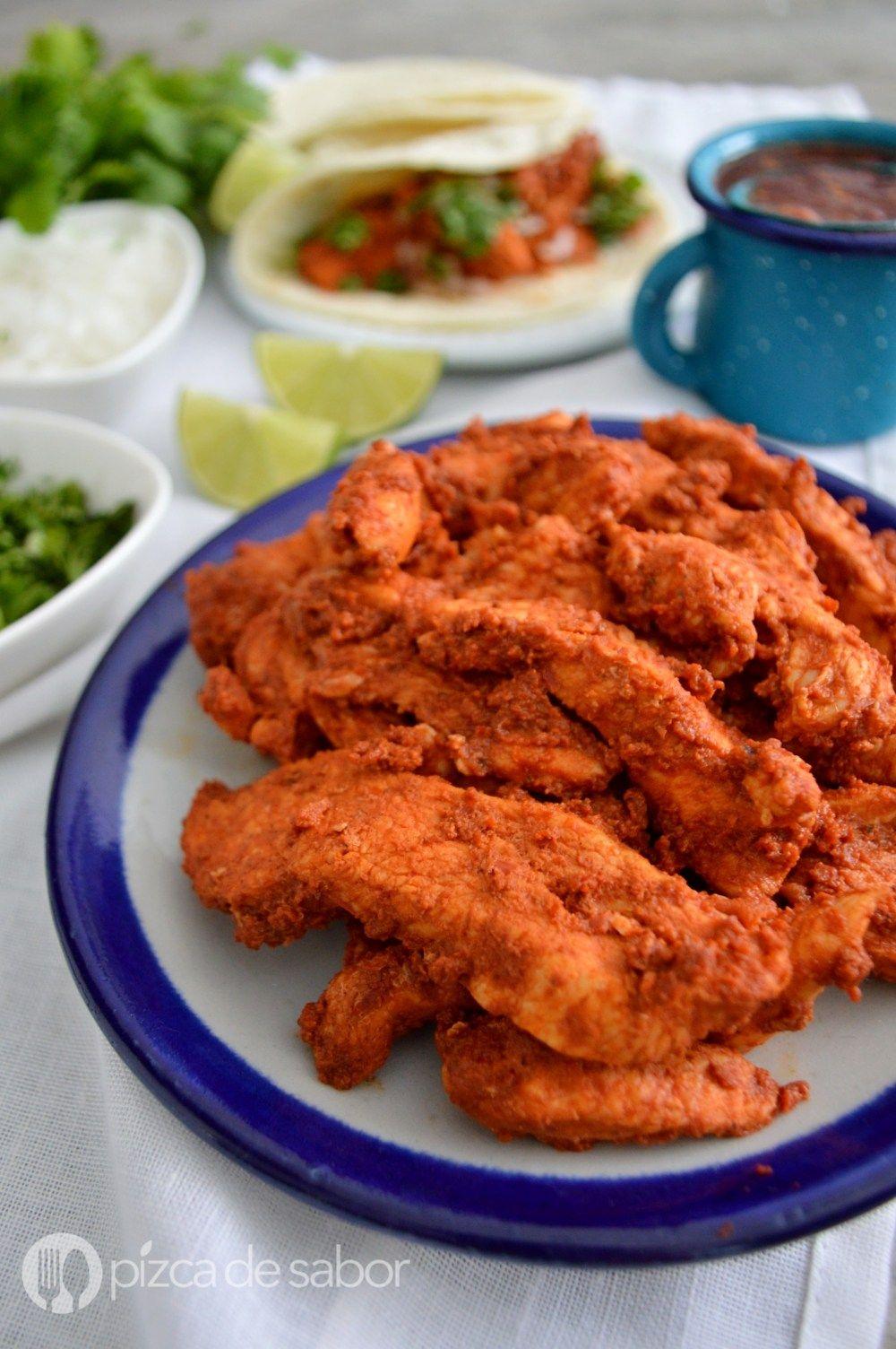 Adobo Para Tacos Al Pastor Fácil Rápido Y Muy Delicioso Receta Pollo Adobado Recetas Mexicanas Como Preparar Pollo