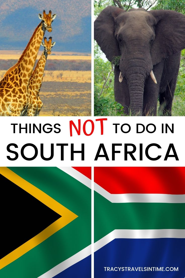 12 essential South Africa travel tips - things NOT
