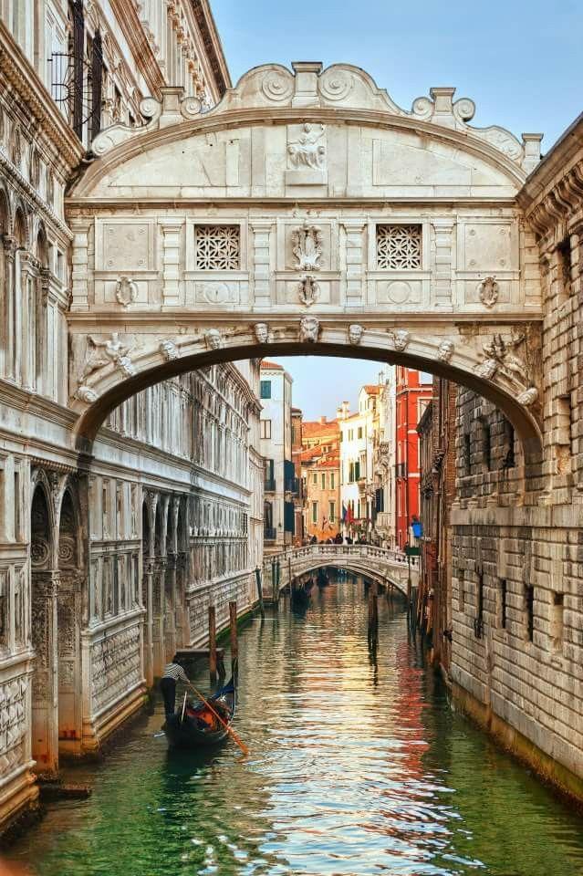 Puente De Los Suspiros Venecia Fotografia Paisaje Foto Del Mundo Venecia Italia