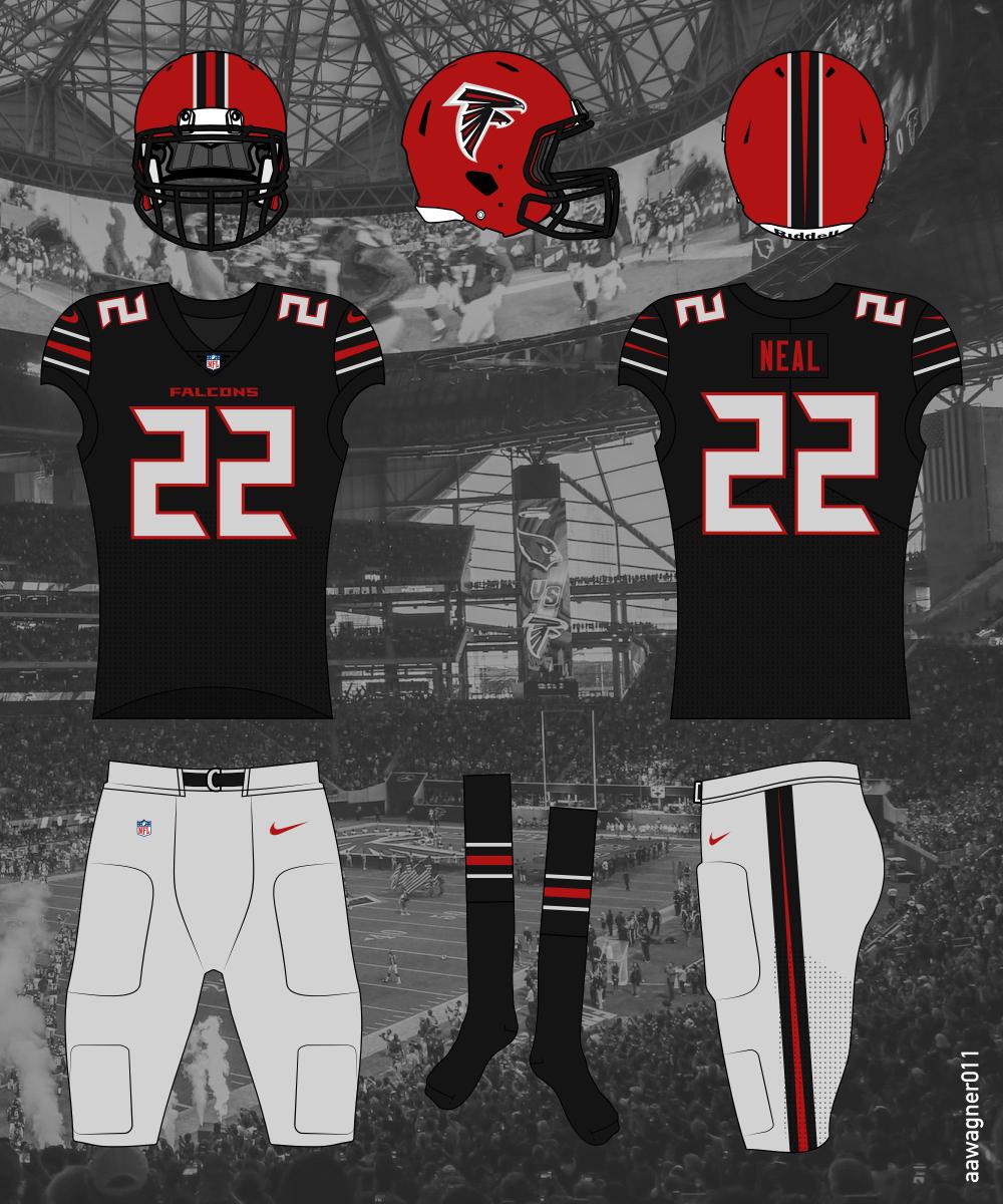 Atlanta Falcons Concept Uniforms Google Search Atlanta Falcons Falcons Football