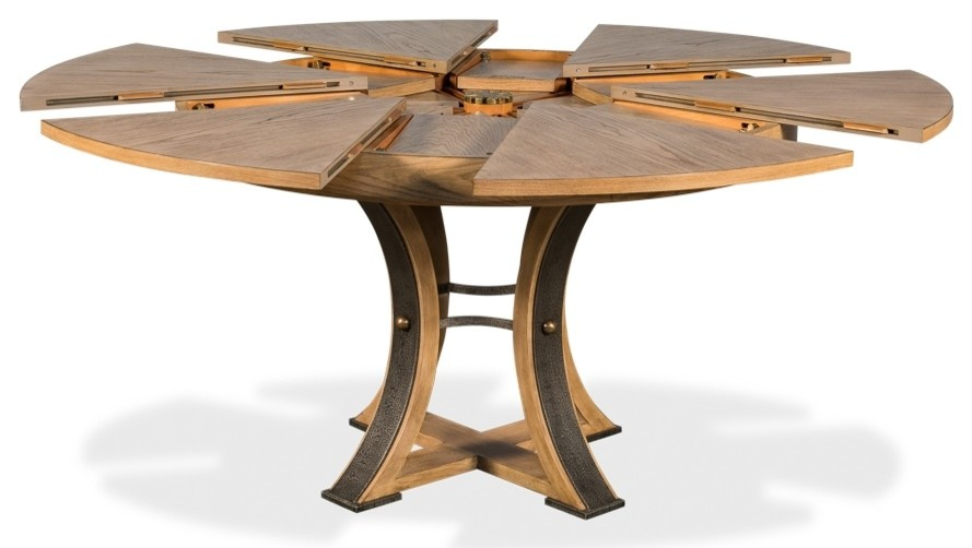Pin By Mpl On Table Ronde Extensible Transitional Dining Tables Dining Table Table