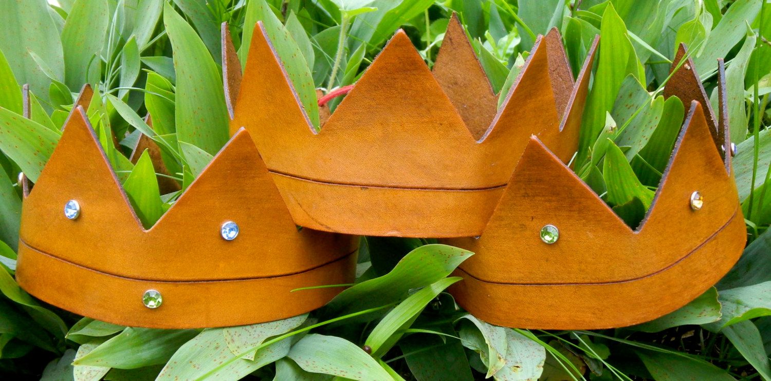 Handmade Leather Where the Wild Things Are by madebyalejandro, $28.00