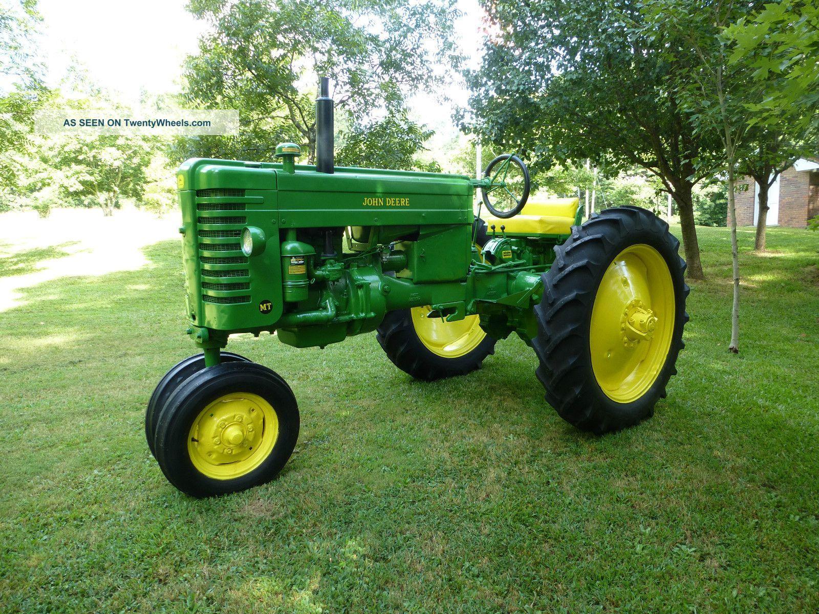 Old John Deere Tractors : Antique tractor links john deere tractors