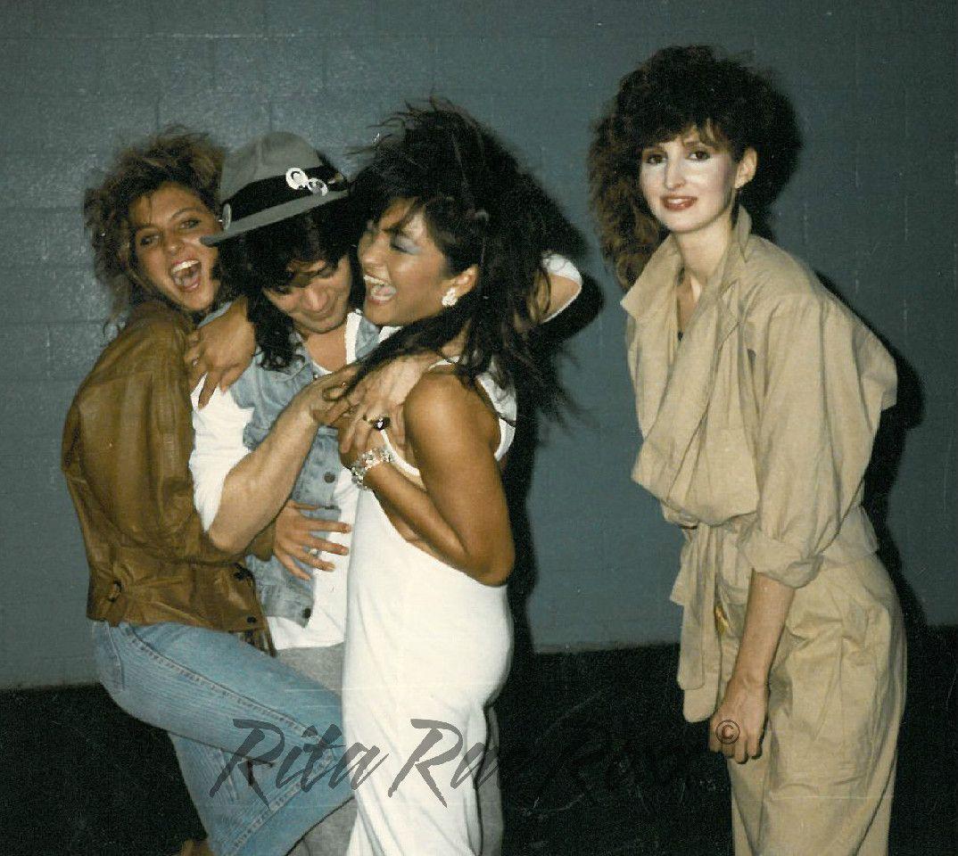 Eighties Photo Album Van Halen Eddie Van Halen Groupies
