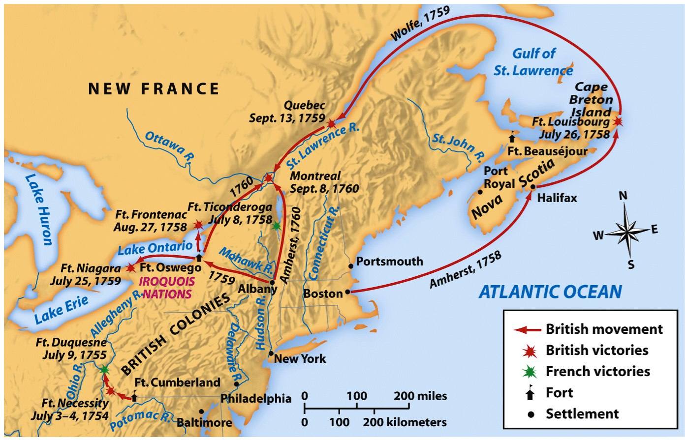 Background History French Indian War Battles Hst202