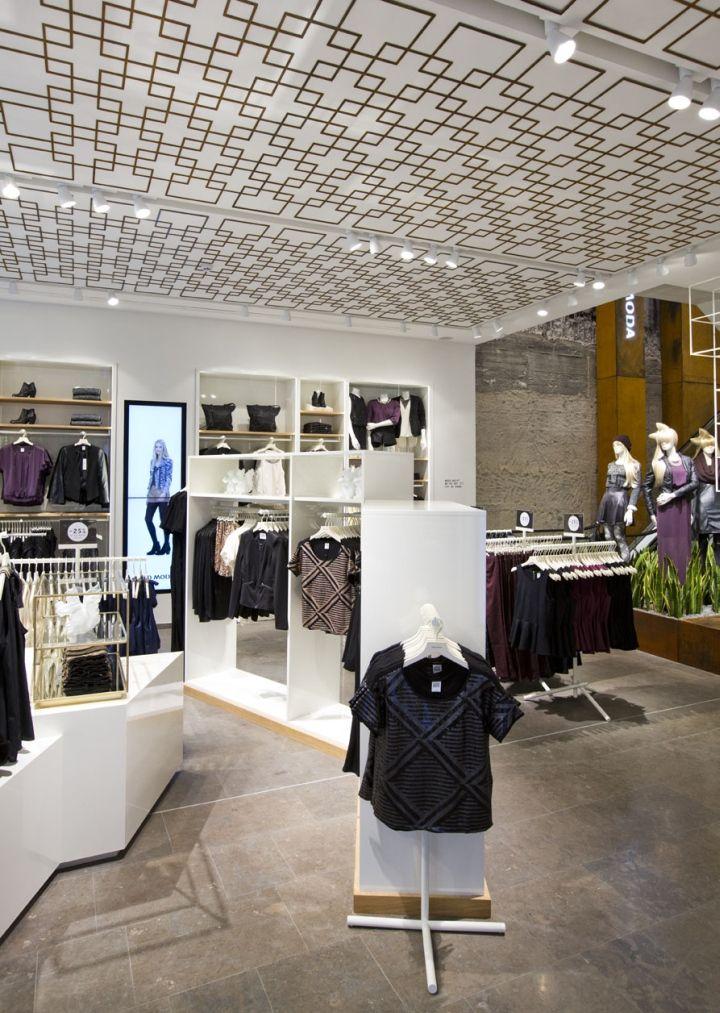 interior design stuttgart vero moda flagship store at k nigstrasse by riis retail