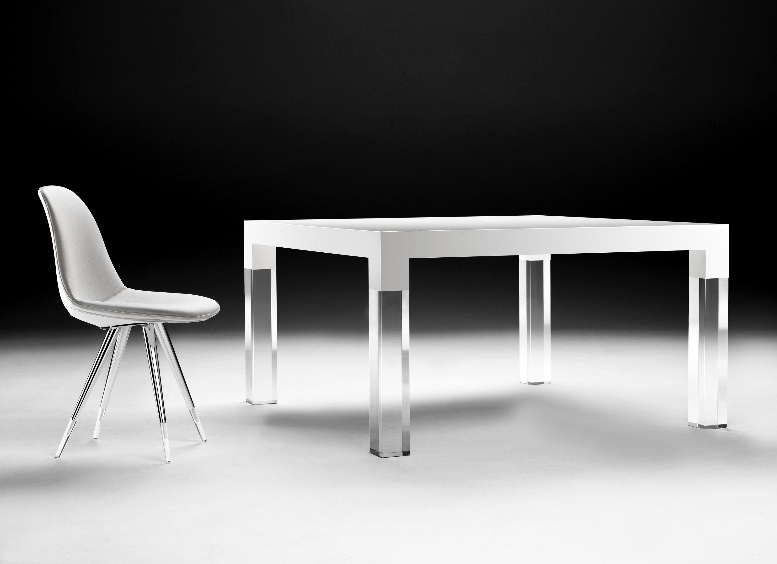Eettafel Modern Wit.Eettafel Modern Wit Rsvhoekpolder