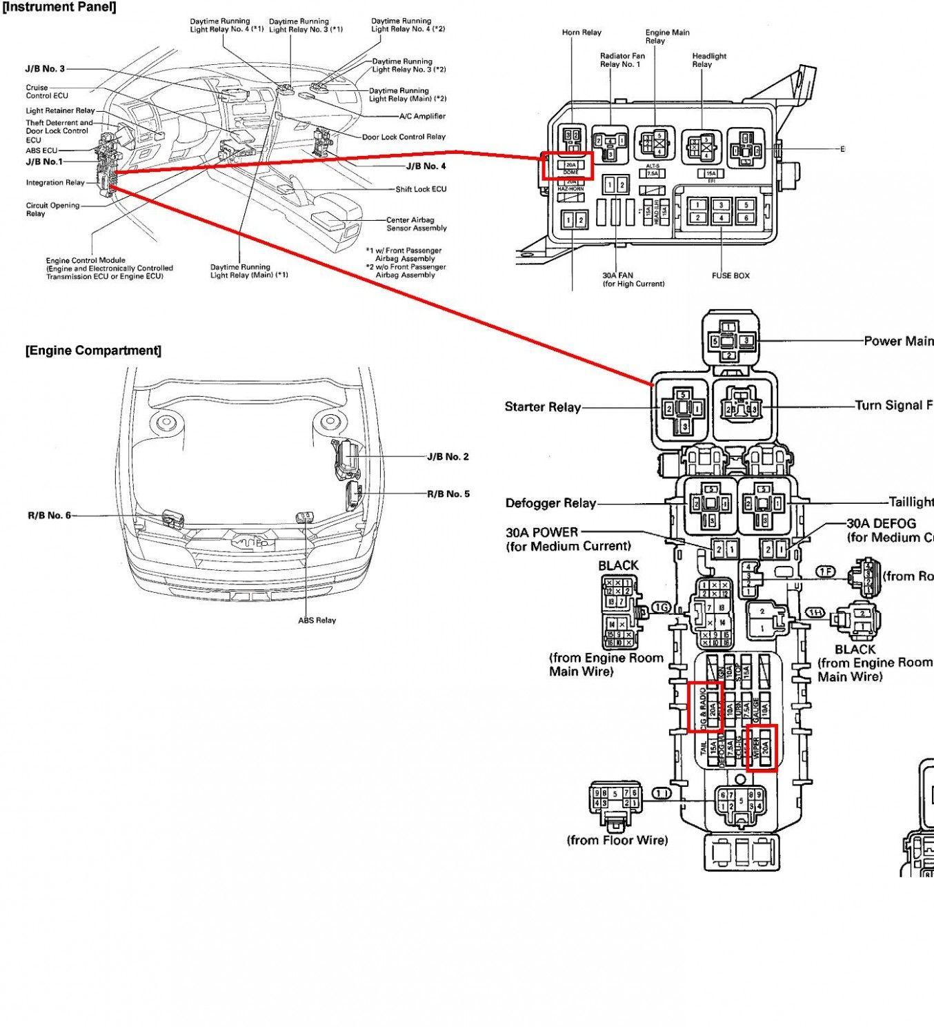 Diagram Engine Toyota Corolla Sedan In