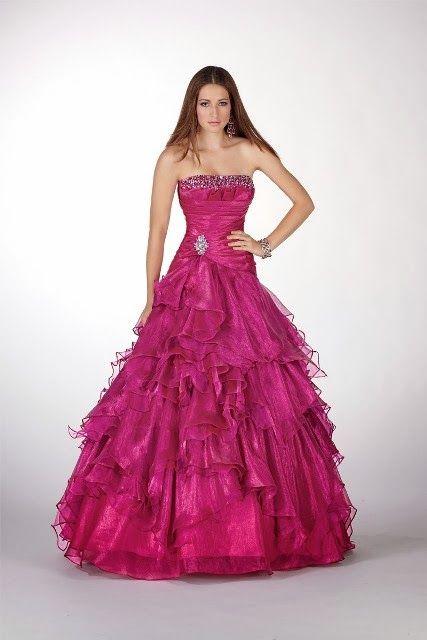 Maravillosos Vestidos De 15 Años Para Fiestas De Distintos