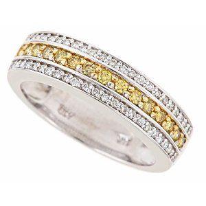 Pin By Jeff Walters On Wedding Stuff With Images Diamond Wedding Bands White Gold Band Yellow Diamond
