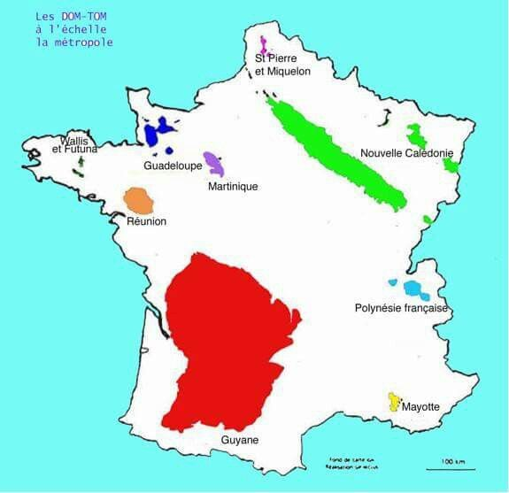 carte des dom tom Épinglé sur A French teacher: Culture française