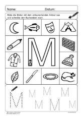 ABC Anlaute und Buchstaben M.pdf | Deutsch lernen | Pinterest | Pdf ...