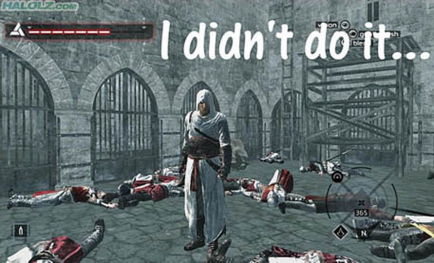 """Assassin's Creed - """"I didn't do it..."""""""