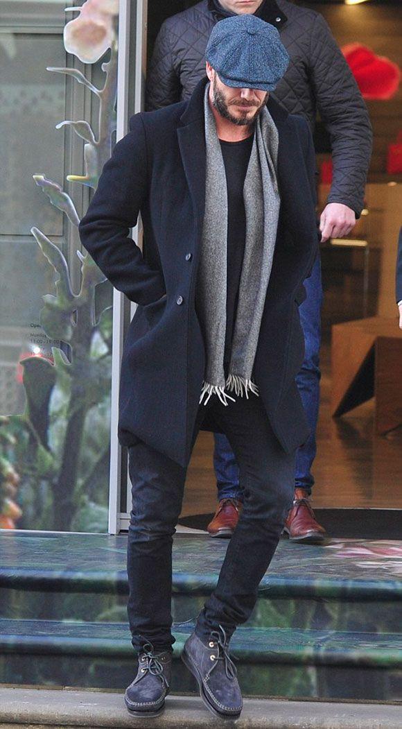 デビッド・ベッカム、妻ヴィクトリアのブティックにて ファッション 私服