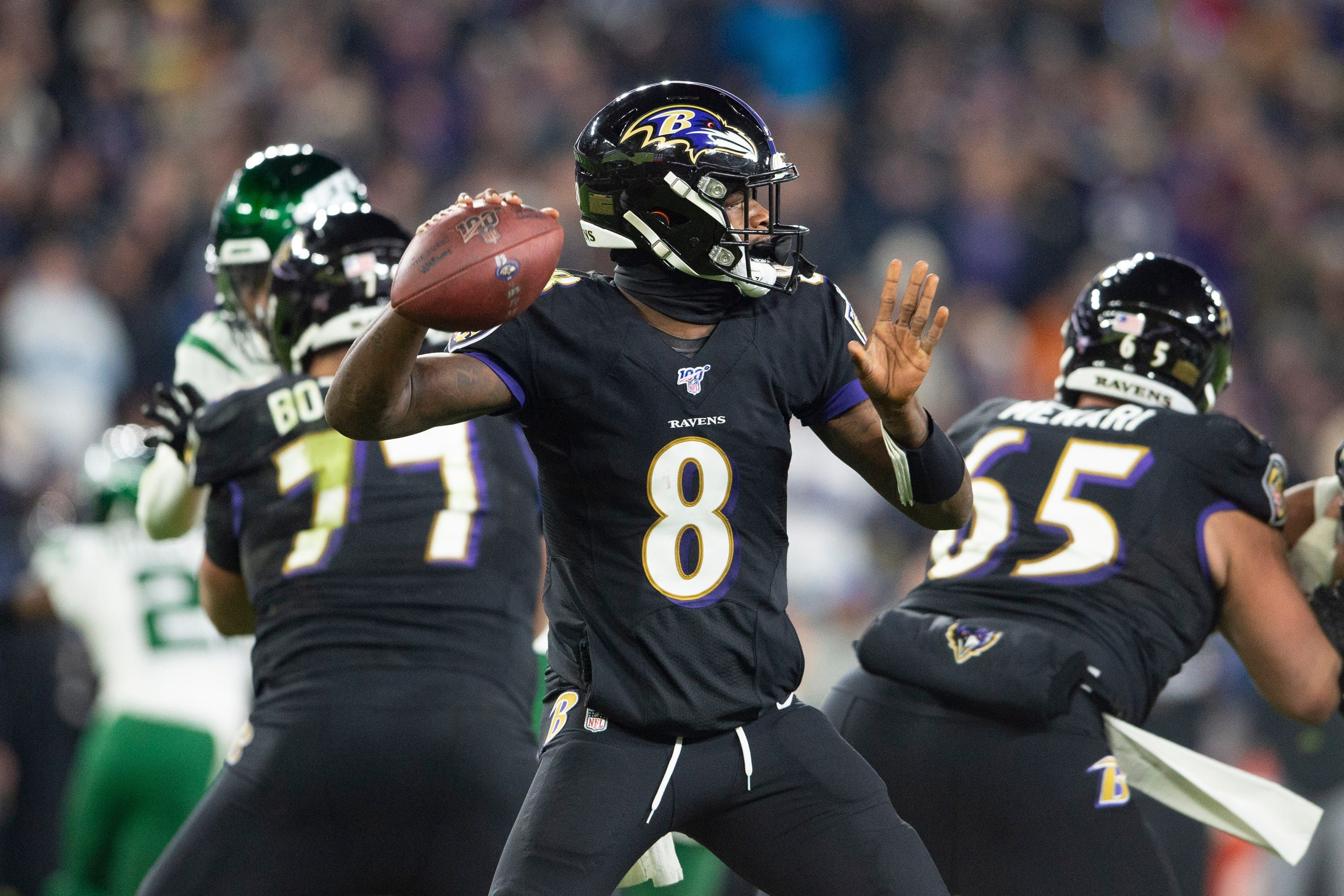 Lamar Jackson of Baltimore Ravens named No. 1 in 'Top 100