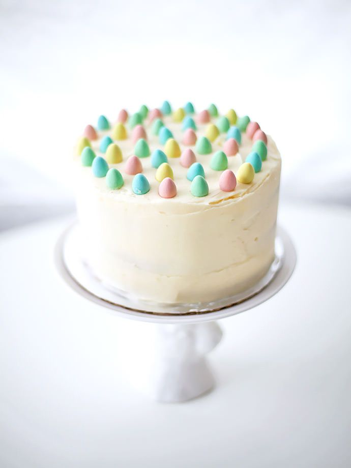 Easy Cake Decorating Ideas For Easter With Images Easter Cakes