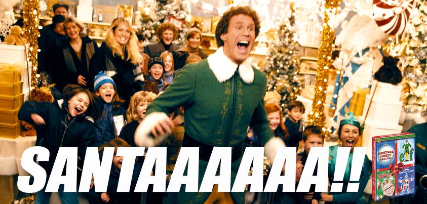 Santaaaaa!!   Son of a Nutcracker! {Elf}   Pinterest ...