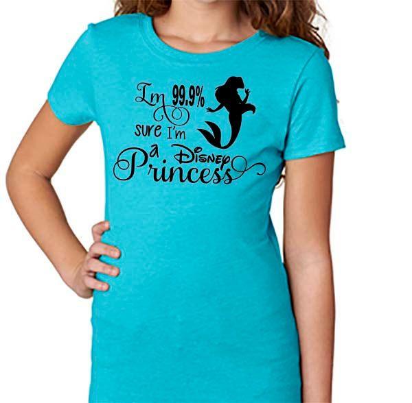 M a Disney Princess Shirtprincess Inspired Shirtprincess Ariel