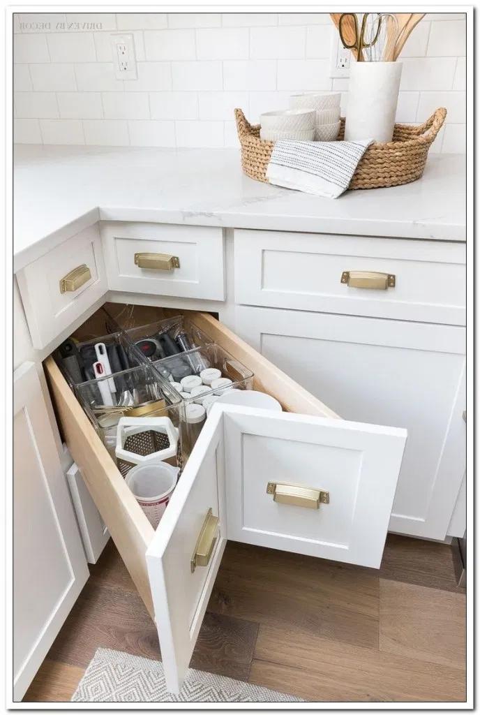 36 kitchen storage ideas for busy parents in 2020 kitchen remodel design elegant kitchens on kitchen organization elegant id=35990