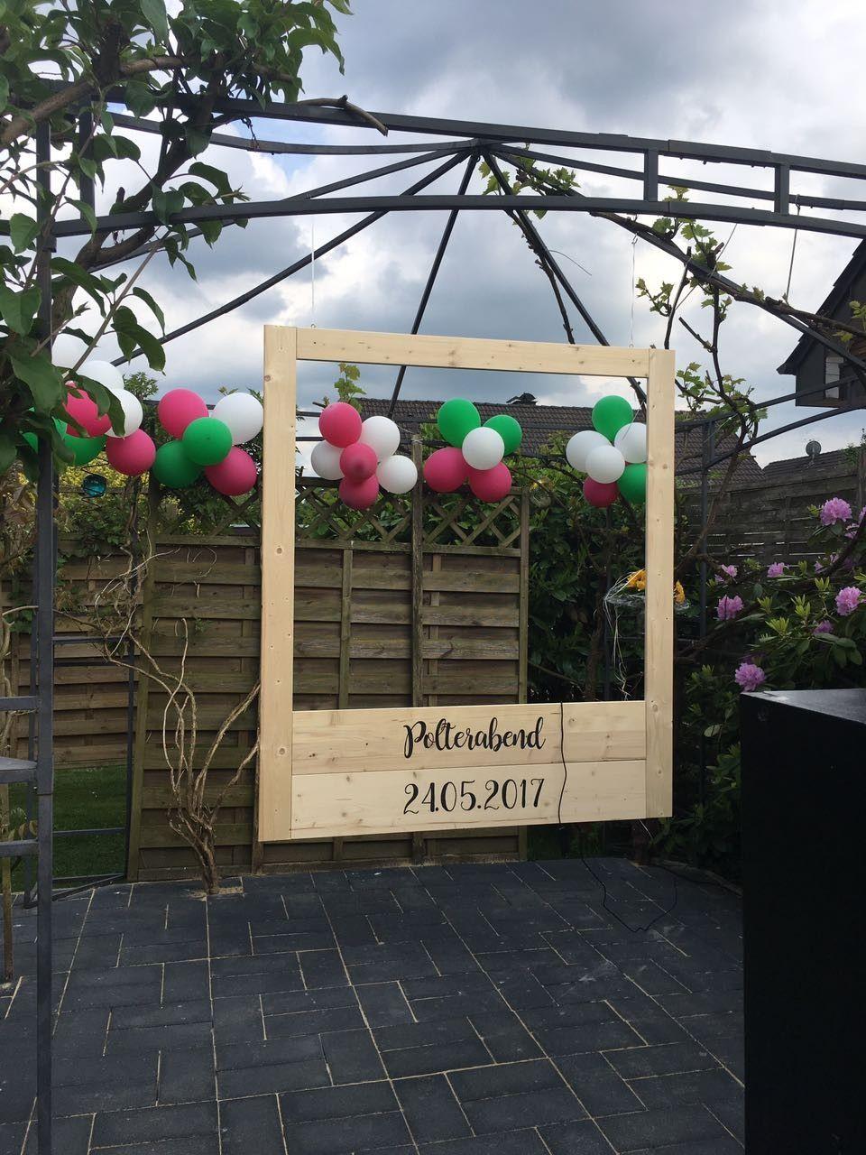 Fotorahmen aus Holz #fotobox | Hochzeitsideen | Pinterest | Fotobox ...